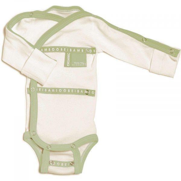 Baby Grow wraparound Bamboo for hospital wear