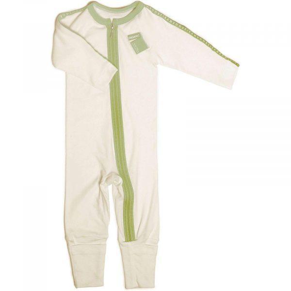 order online green baby pyjama easy dressing