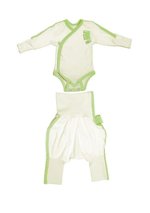 Baby clothing gift set green