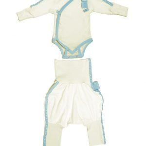 SET Baby Grow(wraparound)+Trousers -0